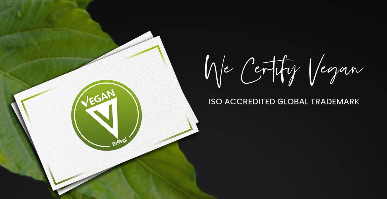 BeVeg logo and vegan certification